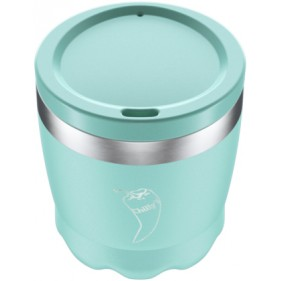 VASO ACERO INOXIDABLE CON TAPA CHILLY'S 230ML - MINT