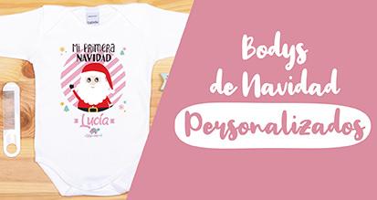 Bodys de Navidad Personalizados