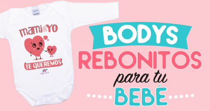 Bodys Personalizados Bebés Manga Corta o Manga Larga