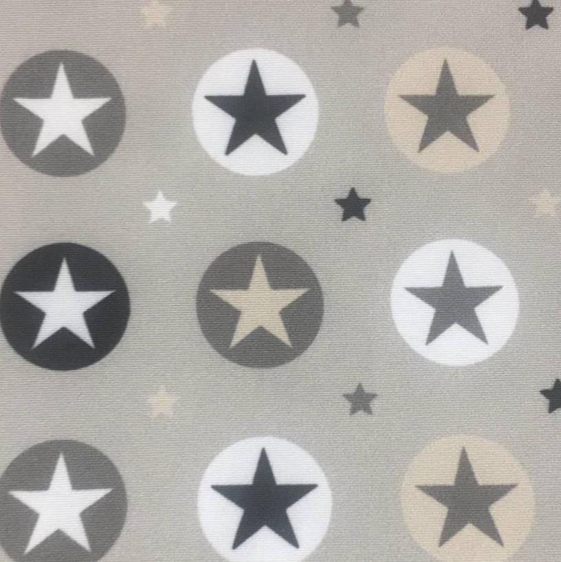 Estrellas círculo - gris - 443