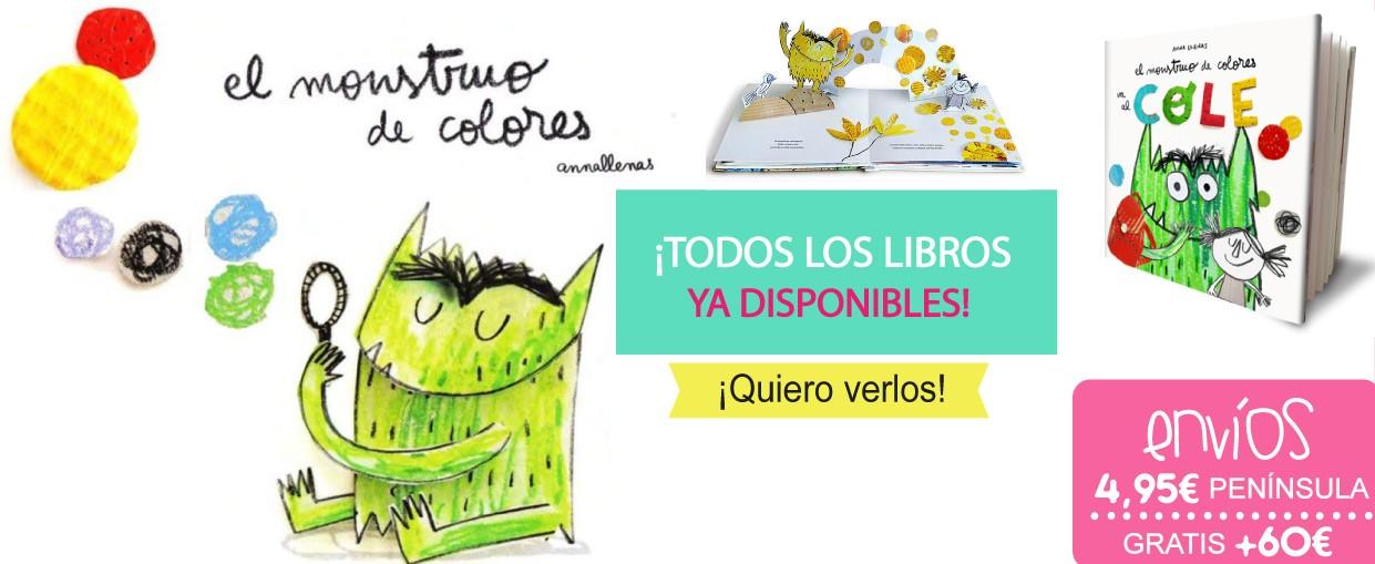 El monstruo de colores, Todos los libros
